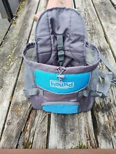 New listing Outward Hound Puppy Dog Backpack Front Carrier - turquoise & gray