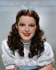 JUDY GARLAND as DOROTHY in OZ Portrait #1   8x10 COLOR Photo by CHIP SPRINGER