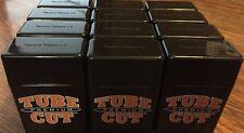 12ct Gambler King Size Tube Cut Hard Strong Box Plastic Cigarette Storage Cases