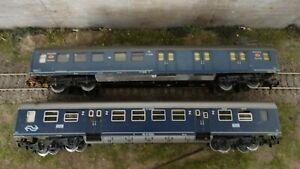 H0 Märklin Konvolut 2 Stk. Personenwagen Schnellzugwagen (0140-P04)