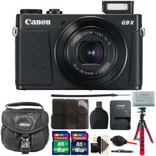 Canon G9X Mark II PowerShot 20.1MP Digital Camera + 24GB Deluxe Accessory Kit