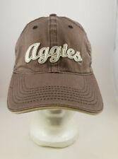 Brown C.C. Creations Headwear College Station TX Aggies Ball Cap Hat 100% Cotton