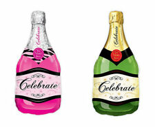Champagne Bottle Shaped Mylar Helium Balloon Party and Wedding Decorations