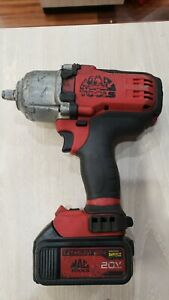 "Mac Tools DWP151 20V 1/2"" Impact Wrench Brushless W/Battery"