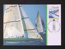 AUSTRALIA MK 1987 AMERICA`S CUP SAILING SCHIFFE SHIPS MAXIMUM CARD MC CM d1711