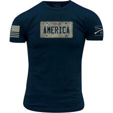 Grunt Style Cruisin' USA T-Shirt - Navy