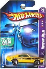 HOT WHEELS INSTANT WIN MOTOWN METAL YELLOW '69 PONTIAC GTO 5/5