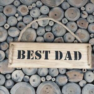 Handmade  ''BEST DAD'' wall plaque