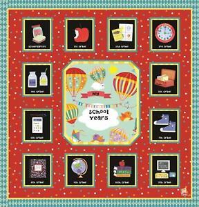 Phoenix Intern. E1 School Years 12in 12 Pocketful Memories Album Book Pre K-12gr