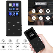 Hi-Fi Lossless MP3 MP4 Music Player 8GB With Bluetooth FM Radio Voice Recorder
