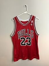 vtg '90s Michael Jordan Chicago Bulls NBA Basketball Jersey Champion
