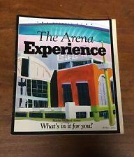 The Arena Experience Magazine Marine Midland Arena Sept 1996 Buffalo NY