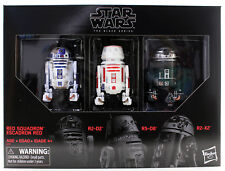 "Star Wars The Black Series 6"" Red Squadron R2-D2 Astromec 3 Pack USA IN STOCK"