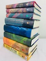 Complete Harry Potter Full Book Set Volumes 8 BOOKS! + Cursed Child Good to VG