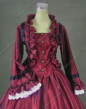Victorian Dickens Faire Vintage Dress Steampunk Theatrical Ball Gown 170 Xxxl