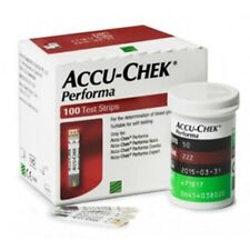 ACCU- CHEK PERFORMA 100 TEST STRIPS EXP-4/2021 DELIVERY WORLDWIDE