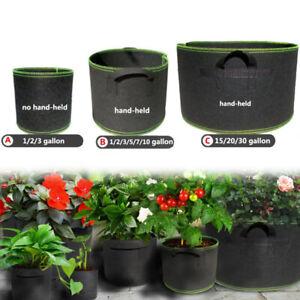 1-30 gallon Tree Pots plant Grow Bags fabric pot garden tools growing bags Pots