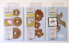 Spellbinders Die D-Lites and Holiday Cut Emboss Stencil NIP Cutting Dies LOT