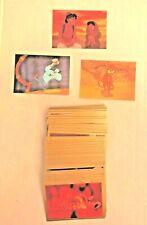 ALADDIN 1993 SKYBOX DISNEY 90 CARD SET WITH 3 FOIL INSERT SET S1 S2 S3
