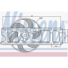 Nissens Lüfter, Motorkühlung Renault Clio Ii,Kangoo,Kangoo Rapid,Thalia 85253