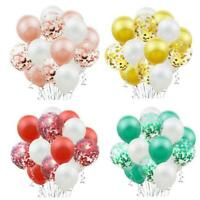 15pcs Pearl Balloons Confetti Latex Baloons Birthday Party Baby Shower Decor