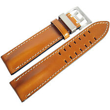 20mm Di-Modell Offroad Mens Tan Leather Pilot German Made Watch Band Strap