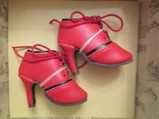 Naughty and Neat Spectator Red Ellowyne Wilde Tonner Doll Shoes Nrfb fit Amber