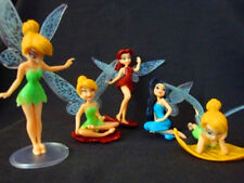 5 DISNEY PRINCESS TINKERBELL FAIRIES ACTION FIGURES DOLL KID CHILD FIGURINES TOY