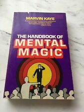 marvin kaye the handbook of mental magic