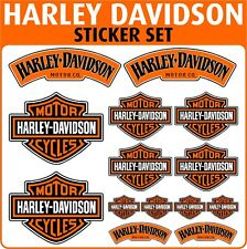 Harley Davidson Motorbike fairing belly pan sticker set - Stickers - Decals