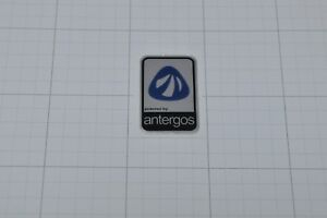 Powered by Antergos Linux Metal Decal Sticker Computer PC Laptop Badge