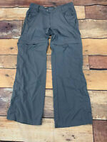 Eastern Mountain Sports EMS Womens Convertible Pants Size 10 L201