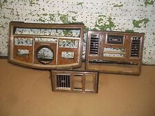 1979 CADILLAC ELDORADO BIARRITZ DASH WOOD GRAIN PANEL  1983 1980