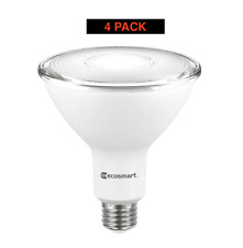 EcoSmart 90W Non-Dimmable LED Floodlight Bulbs, Bright White (4 PACKS)