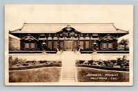 RPPC Hollywood CA-California, Japanese Mansion Real Photo c1910 Postcard