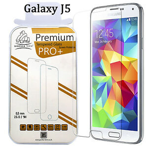 Samsung Galaxy J5 2016 Genuine Gorilla Tempered Glass By GT Screen Protector