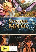 STRANGE MAGIC (Animated movie)  DVD - UK Region 2 Compatible - sealed