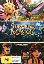 Strange MAGIC (Animación Movie) DVD - GB REGIÓN 2 compatible - Sellado