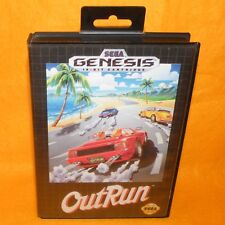 VINTAGE 1991 SEGA MEGA DRIVE GENESIS OUTRUN 16-BIT CARTRIDGE VIDEO GAME