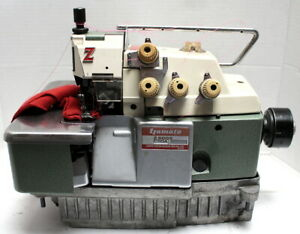 YAMATO Z6000 Overlock Serger 2-Needle 5-Thread Industrial Sewing Machine Head