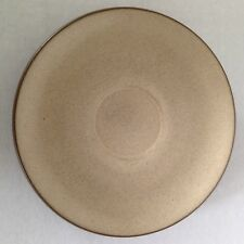 "HEATH Ceramics Sausalito, CA 'Sandalwood' 6"" saucer Lite Speckled Beige / Brown"