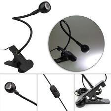 Lampe lecture USB Rechargeable LED Clip-on Lit bureau Lampe de livre Flexible FR