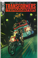 TRANSFORMERS vs. TERMINATOR #3 (COVER A VARIANT) COMIC BOOK ~ IDW