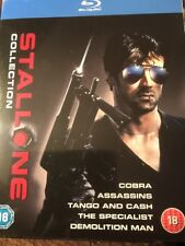 SYLVESTER STALLONE COLLECTION [Blu-ray 5-Movie Box Set] Factory Sealed