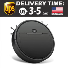 Home Automatic Robot Vacuum Cleaner Floor Edge Suction Sweeper New in Box