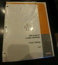 580 Super K Loader Backhoe Parts Catalog