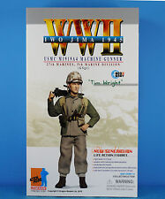 DRAGON 1:6 FIGURE WW2 USMC Marine Army Soldier M1919A4 Machine Gun Gunner 70787