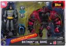 EXCLUSIVE BATMAN: BATMAN VS BANE ACTION FIGURE SET RARE 2006 NEW