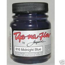 JACQUARD DYE-NA-FLOW MIDNIGHT BLUE SILK FABRIC DYE