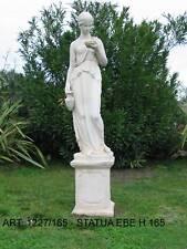 STATUA VENERE EBE ARREDO GIARDINO VILLE NO MARMO LAVORAZIONE ARTIGIANALE H. 165